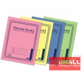 image of UNI EXERCISE BOOK (CARD COVER) 60P SBL-8062 (10 IN 1)