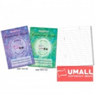image of UNI QUALITY EXERCISE BOOK A6 80P (SEB1001) 5 FOR