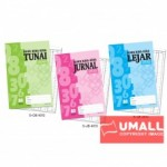 UNI BUKU KIRA-KIRA TUNAI 70G F4-80P (S-CB4012) 2 FOR
