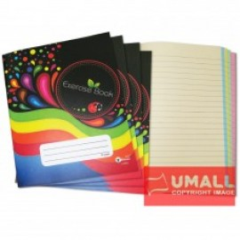 image of UKAMI COLOUR EXERCISE BOOK F5 80P (U-8803)