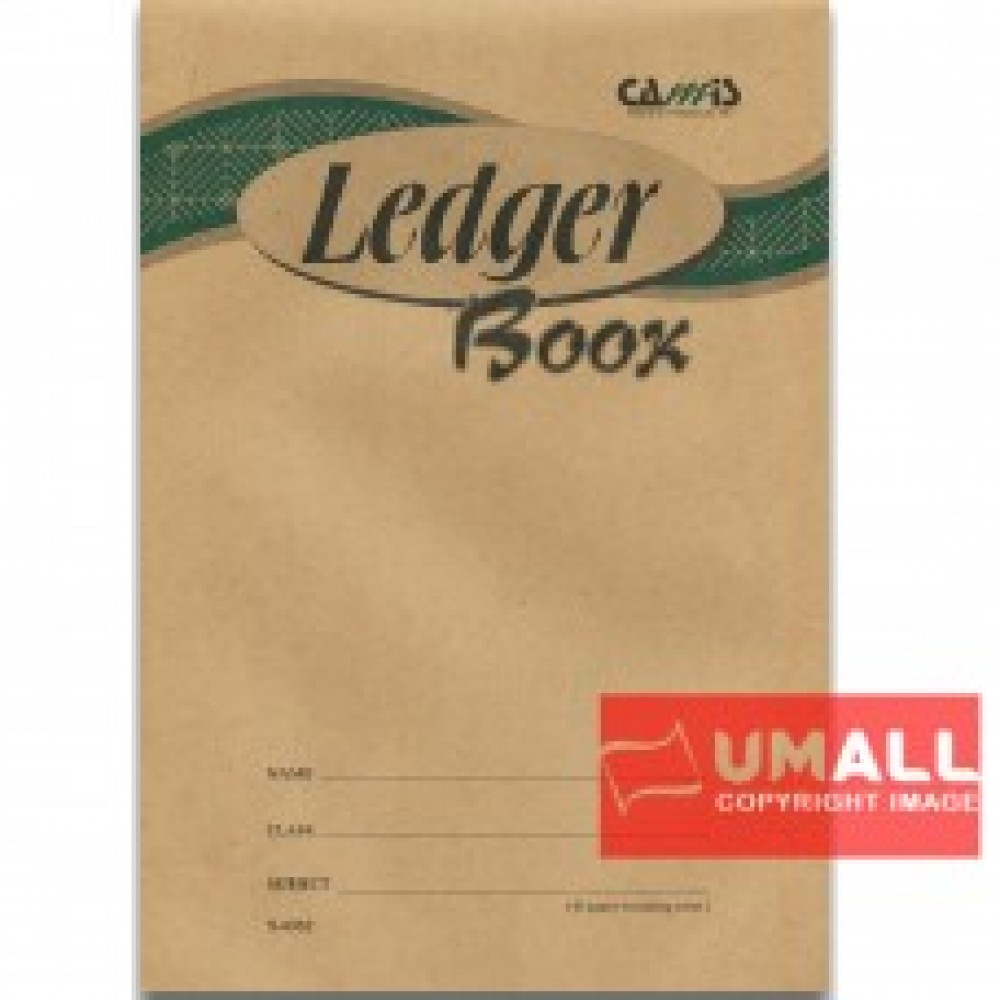 CAMIS LEDGER BOOK F4 40P (S-4052) 3 PCS