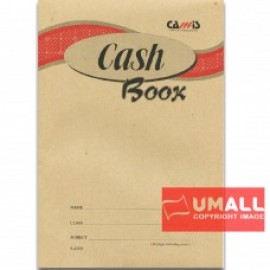 image of CAMIS CASH BOOK F4 40P (S-4053) 3 PCS