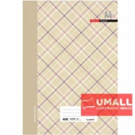 image of UNI FOOLSCAP H/C BOOK 70G 400P (A4)