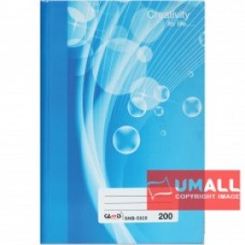 image of CAMIS SHORT OBLONG H/C BOOK 50G F6-200P (SNB-5020) 2 FOR