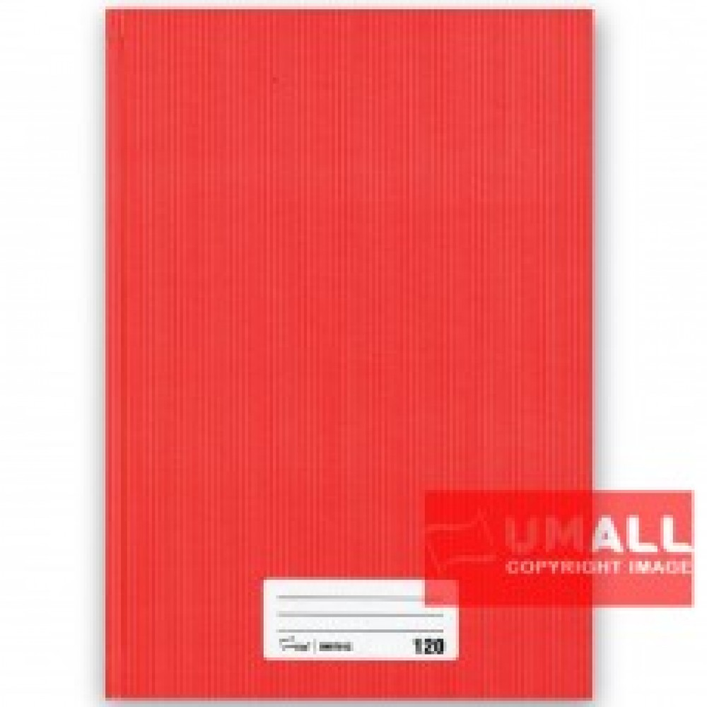 UNI A4 HARD COVER BOOK 60G 120P (SNB7012)