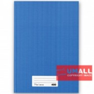 image of UNI A4 HARD COVER BOOK 60G 400P (SNB7040)