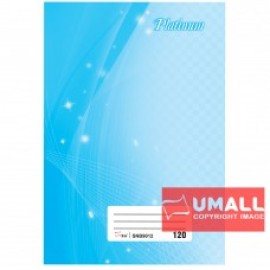 image of UNI PLATINUM SHORT OBLONG H/C BOOK F6-120P (SNB9012)