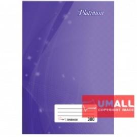 image of UNI PLATINUM SHORT OBLONG H/C BOOK F6-300P (SNB9030)