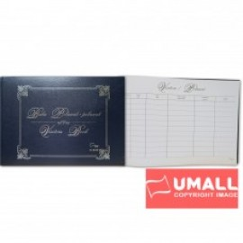 image of UNI VISITOR BOOK A4-160P (S2233)