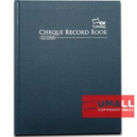 image of UNI H/C CHEQUE RECORD BOOK F5-120P (SCRB102)