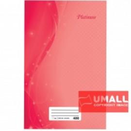 image of UNI PLATINUM FOOLSCAP H/C BOOK 60G 400P (SNB-204)