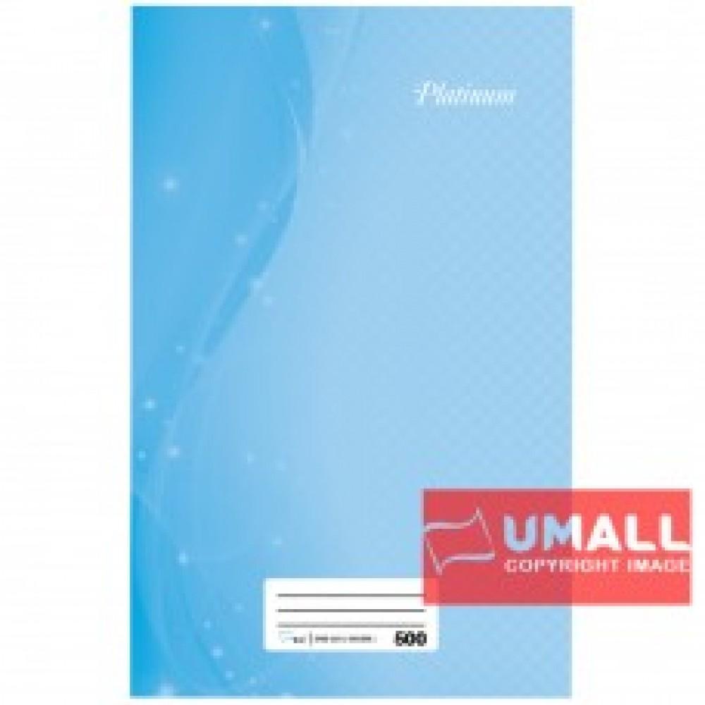 UNI PLATINUM FOOLSCAP H/C BOOK 60G 500P (SNB-205)