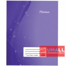 image of UNI PLATINUM QUARTO H/C BOOK 60G F5-120P (SNB-611)