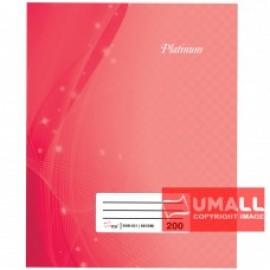 image of UNI PLATINUM QUARTO H/C BOOK 60G F5-200P (SNB-621)