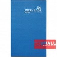 image of UNI INDEX FOOLSCAP H/C BOOK F4-200P (SNB-2202)