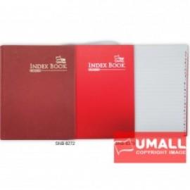 image of UNI INDEX QUARTO H/C BOOK F5-200P (SNB-6272)