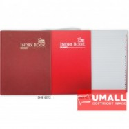 image of UNI INDEX QUARTO H/C BOOK F5-400P (SNB-6474)