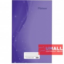 image of UNI PLATINUM FOOLSCAP H/C BOOK 60G 200P (SNB-202)