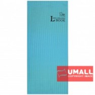 image of UNI LONG OBLONG H/C BOOK 120P (LOB-120HC)