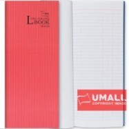 image of UNI LONG OBLONG H/C BOOK 400P (LOB-400HC)