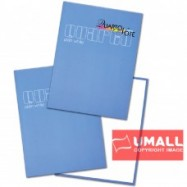 image of UNI PLAIN WHITE QUARTO H/C BOOK F5-200P (S-101)