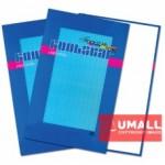 UNI PLAIN WHITE FOOLSCAP H/C BOOK F4-200P (S-201)