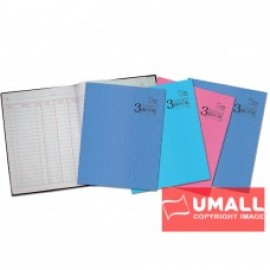 image of UNI 3 COLUMNS QUARTO H/C BOOK F5-300P (S-663)