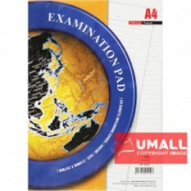 image of UNI EXAMINATION PAD 50GSM A4-50'S (SA-5050) 2 FOR