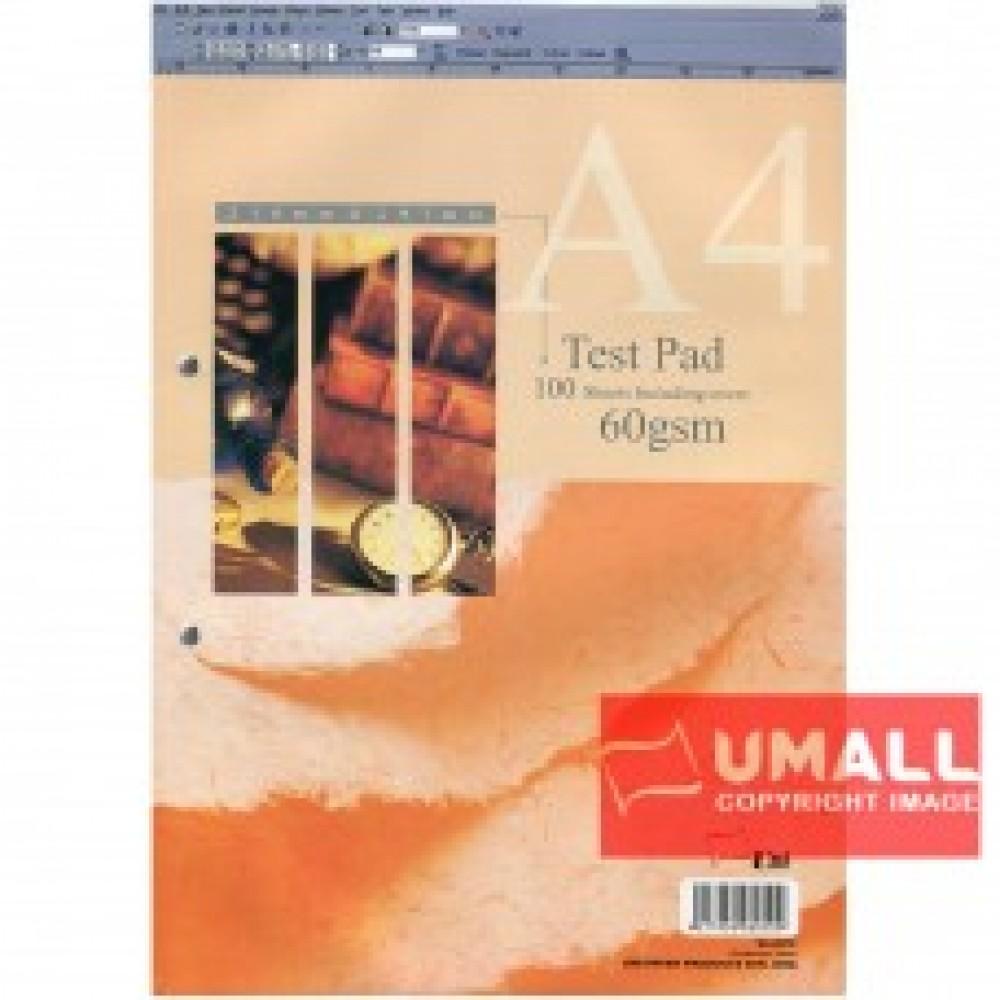 UNI TEST PAD 60G A4-100'S (SA-6010)