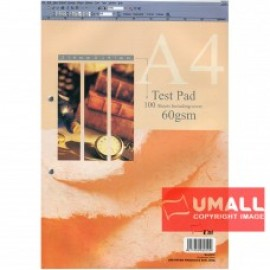 image of UNI TEST PAD 60G A4-100'S (SA-6010)
