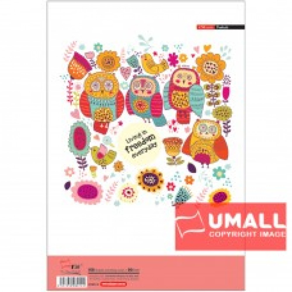 UNI EXAM PAD 80G A4-100'S (SA8014)