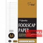 UNI FOOLSCAP PAPER 100G A4-70'S (1037) GOLD