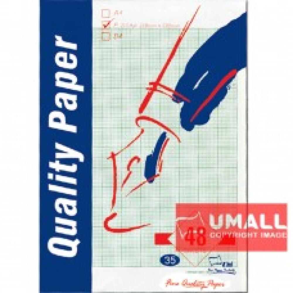 UNI GRAPH PAPER 70G F4-48'S (S35)