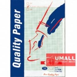 image of UNI GRAPH PAPER 70G F4-48'S (S35)