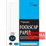 UNI FOOLSCAP PAPER N/L 60G A4-240'S (S-36)