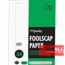 image of UNI FOOLSCAP PAPER 70G A4-100'S (S37)