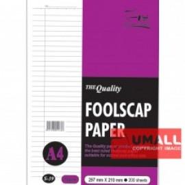 image of UNI FOOLSCAP PAPER 70G A4-200'S (S-37)