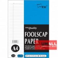 image of UNI FOOLSCAP PAPER 80G A4-80'S (S38)