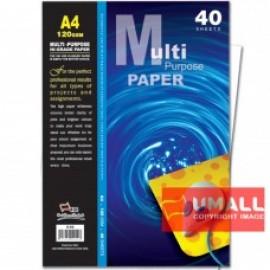 image of UNI MULTIPURPOSE PAPER 120G A4-40'S (S-69)