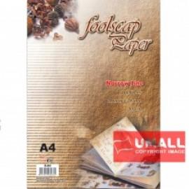 image of UNI FOOLSCAP PAPER N/L 60G A4-480'S (S-80)