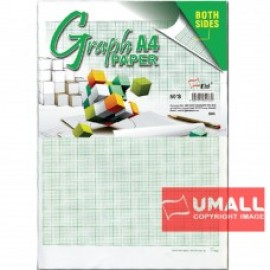 image of UNI GRAPH PAPER A4-50S (S85)
