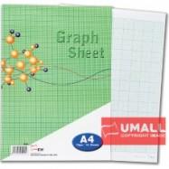 image of UNI GRAPH SHEET 70G A4-40'S (S-25)