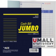 image of UNI JUMBO CASH BILL NCR 2 PLY X 80'S (U-6785)