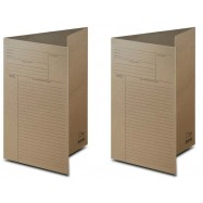 image of Uni Paper Brown File (Thin) 100 sheets