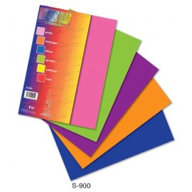 image of Fluorescent Colour Sticker A4 5's