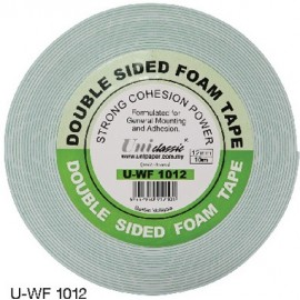 image of Uni Paper 12mm x 10yds Classic Double Side Foam Tape