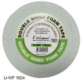 image of Uni Paper 24mm x 10m Classic Double Side Foam Tape