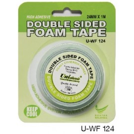 image of Uni Paper 24mm x 1m Classic Double Side Foam Tape