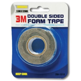 image of Uni Paper 1.5m x 12mm 3M Double Sided Foam Tape