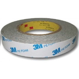 image of Uni Paper 18mm x 10 3M PE Double Side Foam Tape